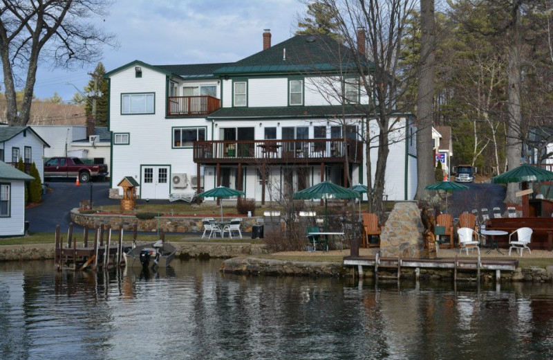 Cottage Exterior at Channel Waterfront Cottages