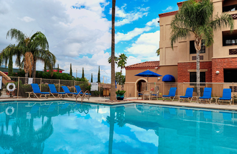 Outdoor pool at Varsity Clubs of America - Tucson Chapter.