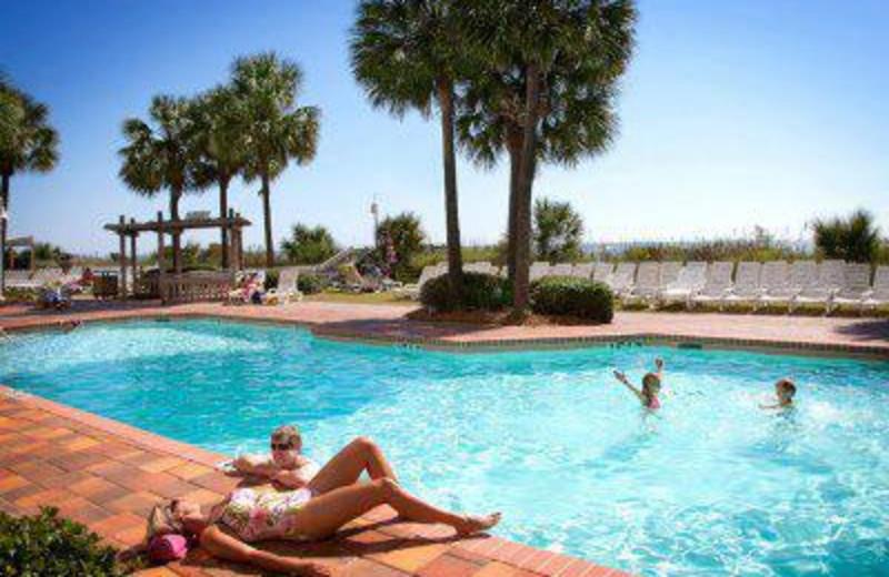 Outdoor Pool at SeaCrest Oceanfront Resort