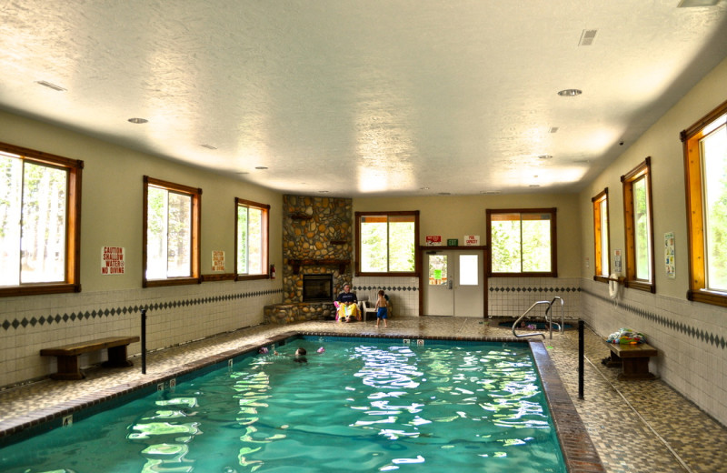 Indoor pool at Sawtelle Mountain Resort.