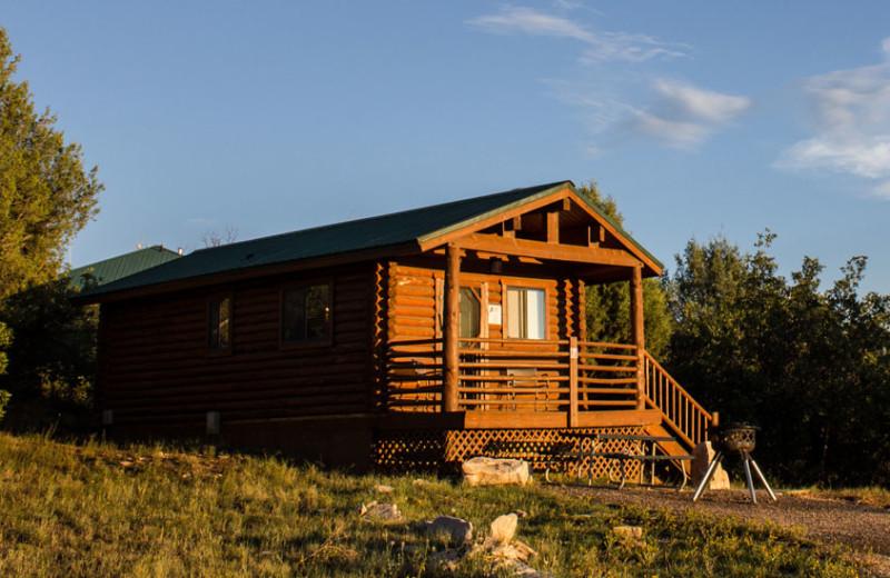 Suite cabin exterior at Zion Ponderosa Ranch.