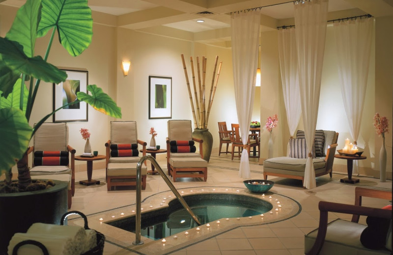 The spa at FOUR SEASONS DALLAS.