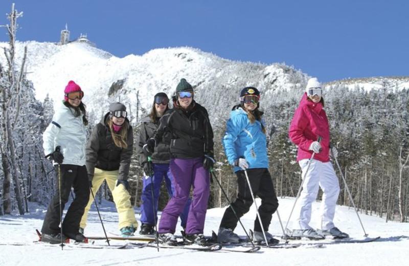 Skiing at The Pines Inn of Lake Placid.