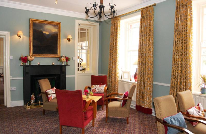 Lounge at Gougane Barra Hotel.
