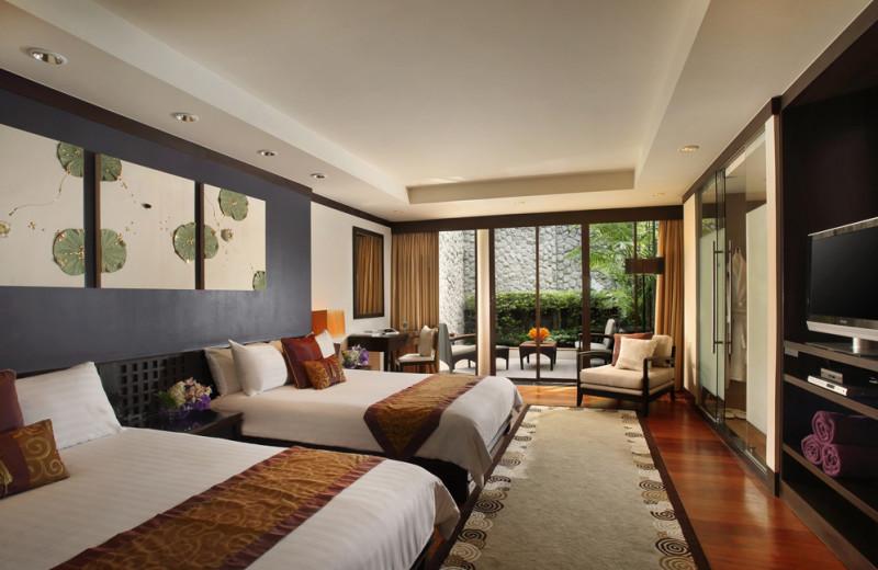 Guest room at Dusit Laguna Resort.