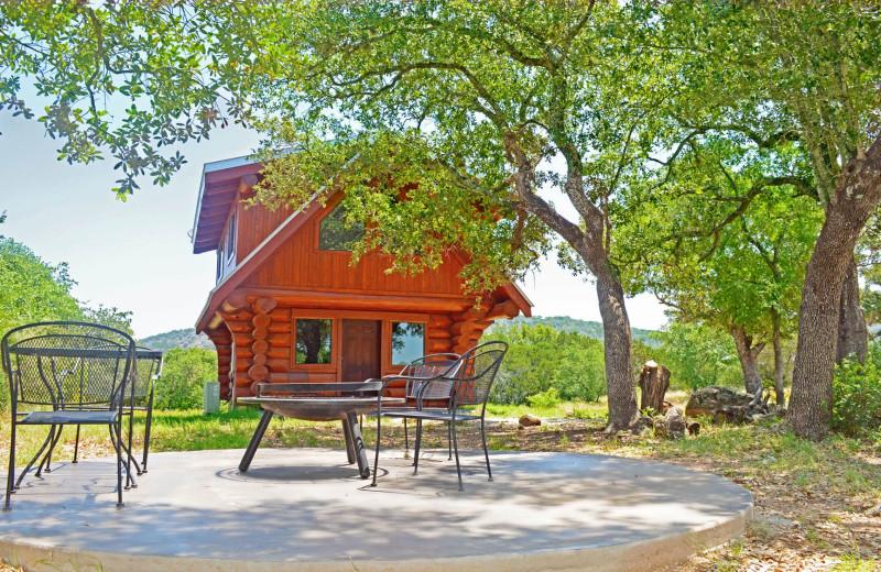 Rental exterior at Log Country Cove.