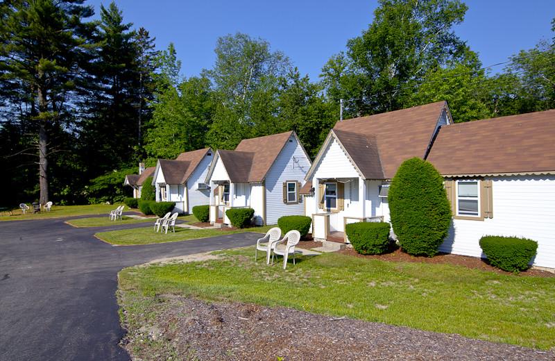 Cabins at Riverbank Motel & Cabins.