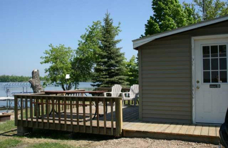 Sunfish Cabin at Ten Mile Lake Resort.