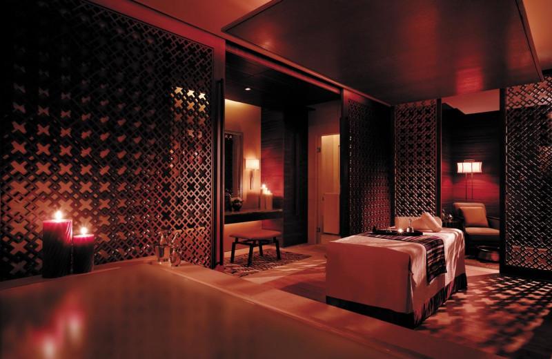 Spa room at Shangri-La Hotel-Beijing.