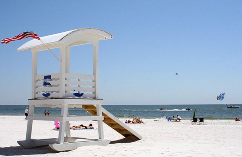 Life Guard Stand at Meyer Vacation Rentals