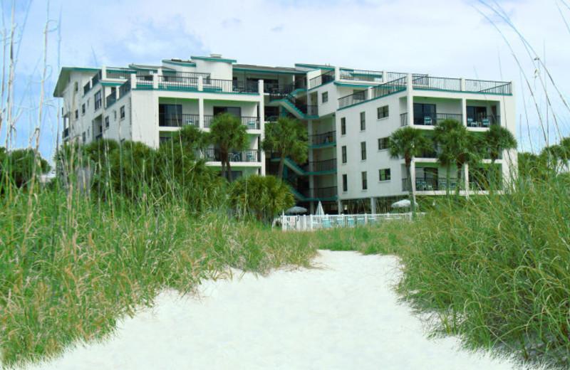 Vacation rental exterior at Liberte Management Group.