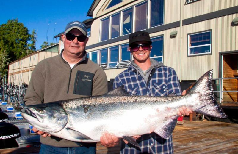 Fishing at West Coast Resorts.