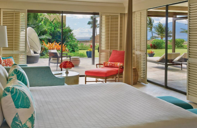 Guest room at Four Seasons Resort - Maui at Wailea.