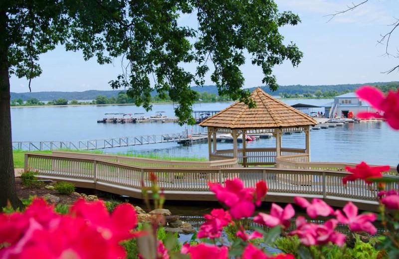 Lake view at Fourwinds Resort & Marina.