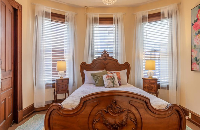 Rental bedroom at Jersey Cape Realty.