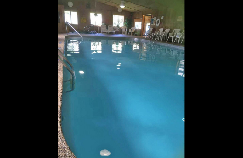 Indoor pool at Sullivans Resort & Campground.