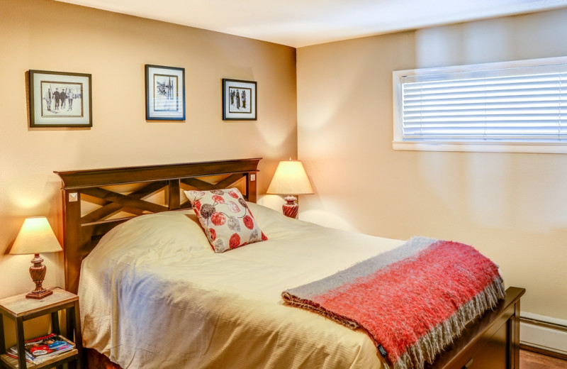 Guest bedroom at The Bella Vista Estate.