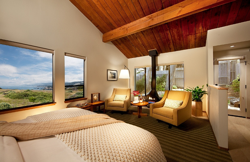Guest room at Sea Ranch Lodge.
