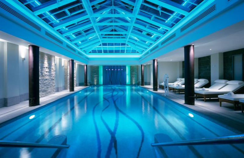 Indoor pool at Old Course Hotel Golf Resort & Spa.