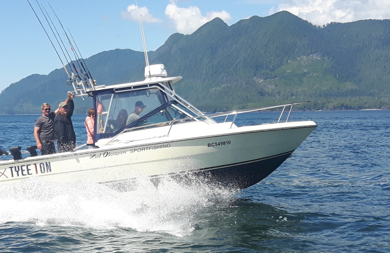 Boating at Reel Obsession Sport Fishing.