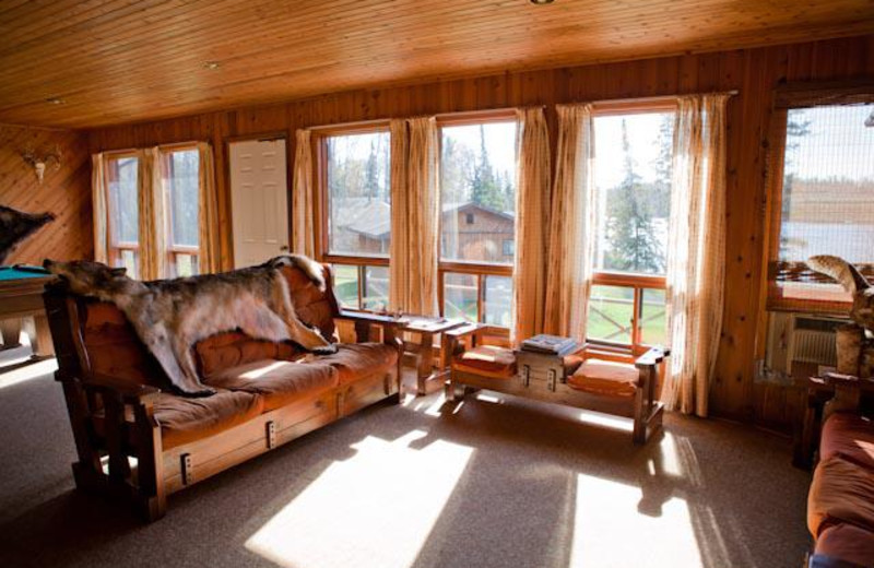 Living Area at Big North Lodge & Outposts