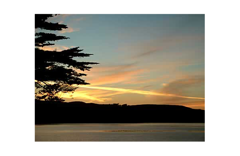 View from Inn On Tomales Bay.