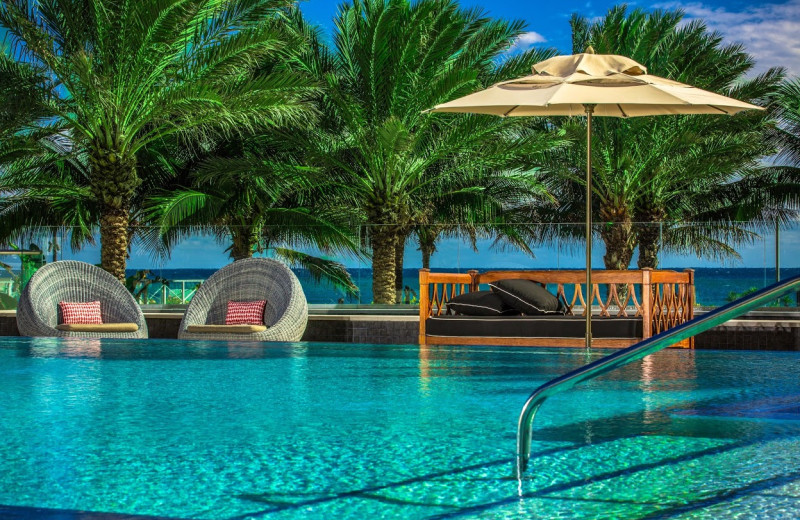 Outdoor pool at Renaissance-Eden Roc.