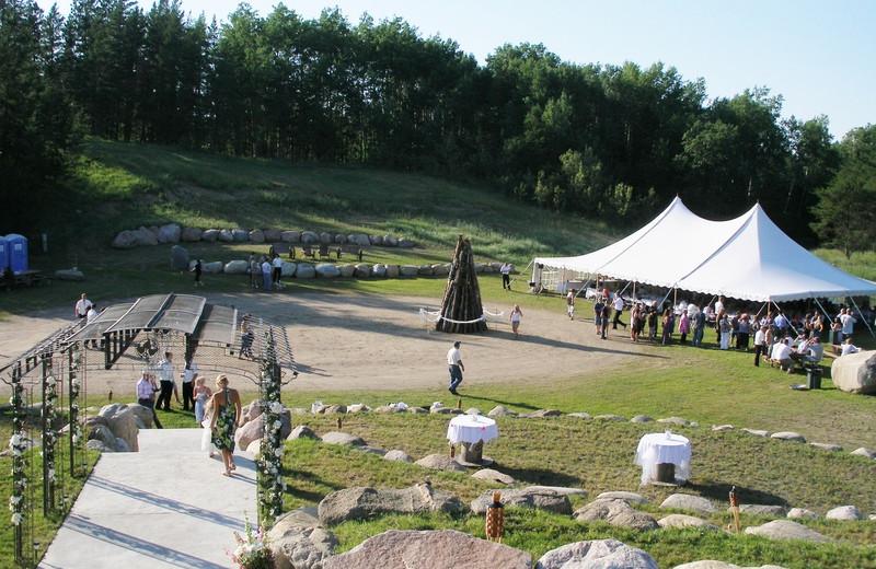 Wedding at Black Lantern Resort and Retreat.