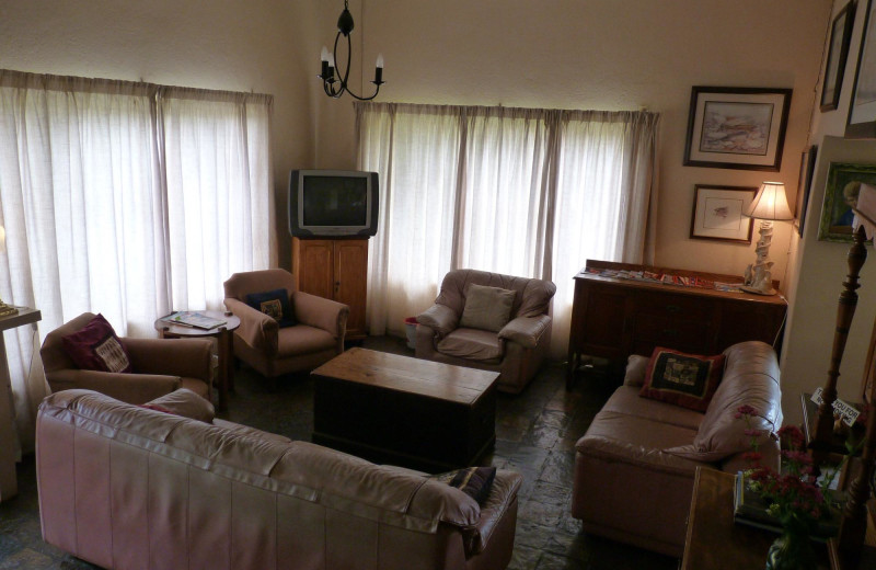Interior view of Walkerbouts Guesthouse.