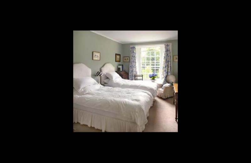 Guest room at Kippenross.