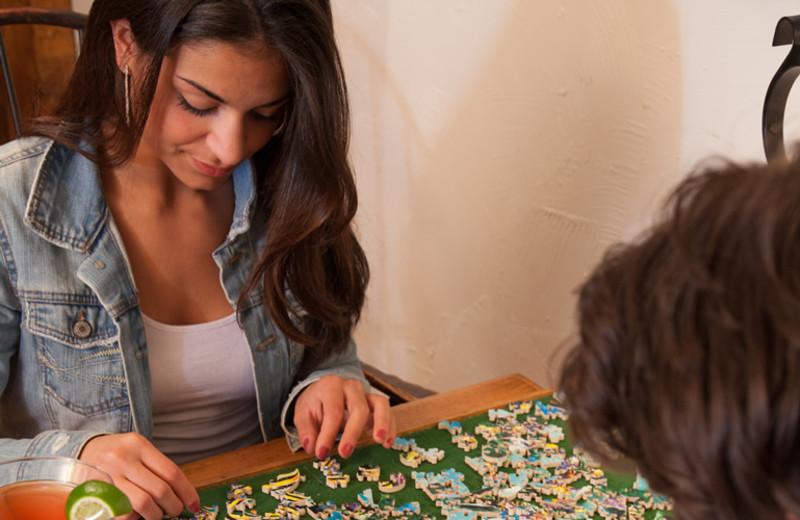 Puzzles at Rabbit Hill Inn.