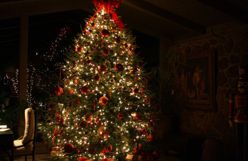 Christmas at Red Apple Inn and Country Club.