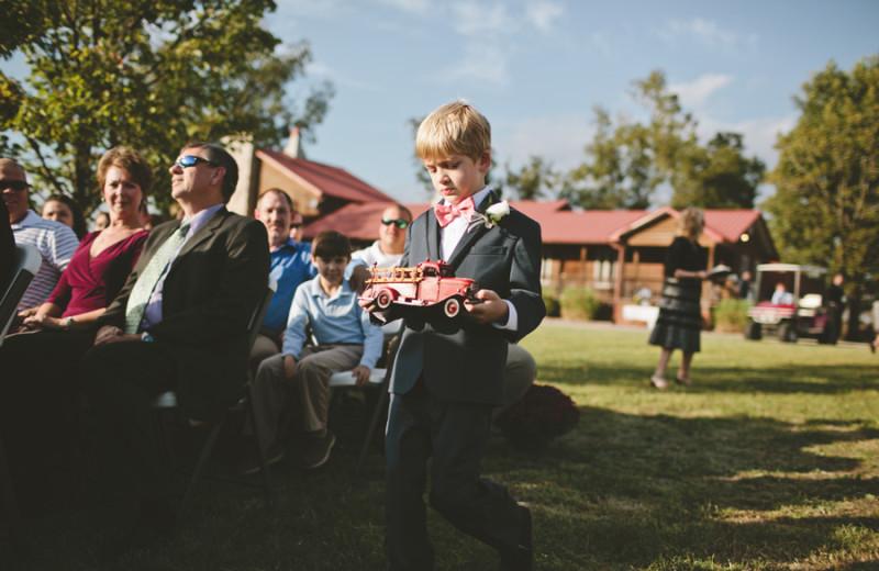 Wedding at Buckhead Ranch.