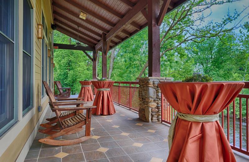 Balcony at RiverStone Resort & Spa.