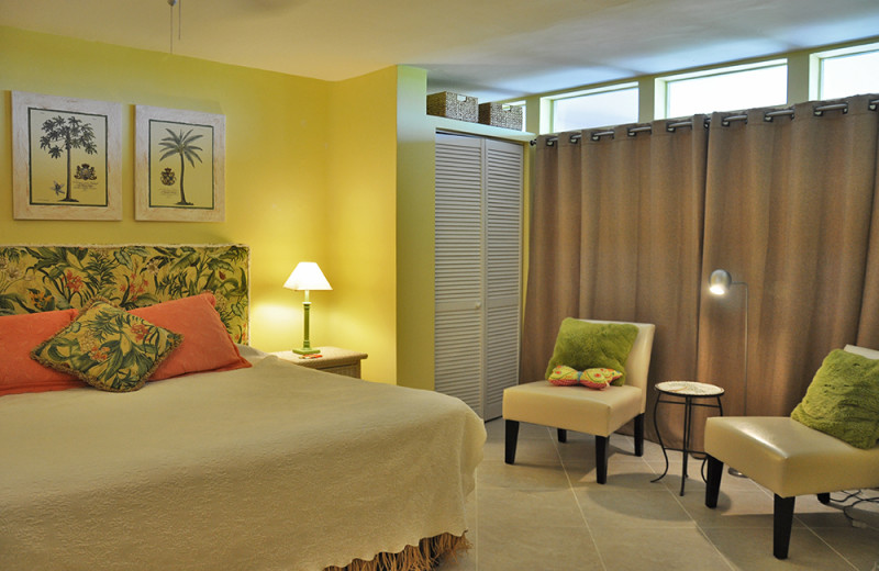 Rental bedroom at Rent Key West Vacations.