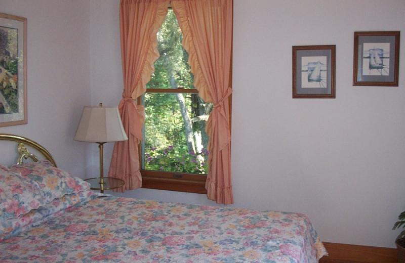 Guest room at Chesapeake Inn.