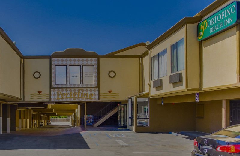 Exterior view of Portofino Beach Inn.