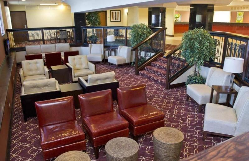 Lobby at Radisson Hotel Branson