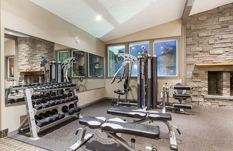 Gym at The Sullivan.