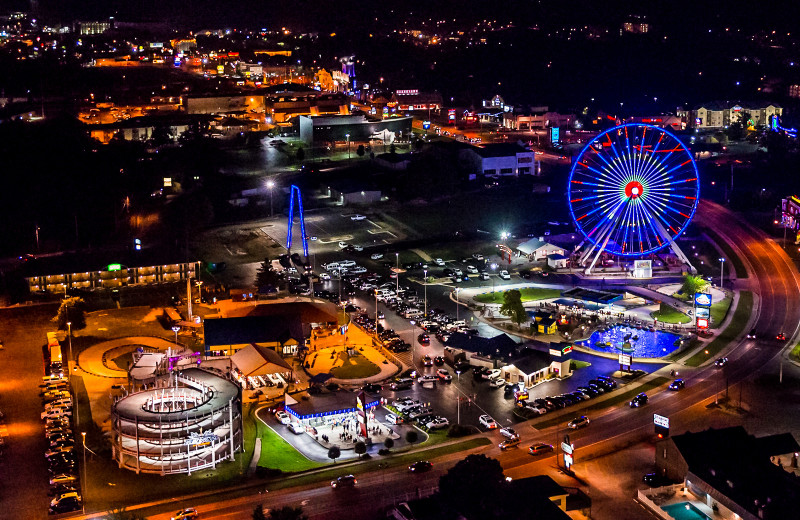 Amusement park near Indian Point.