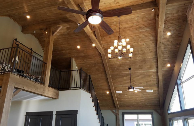 Guest loft at Antlers Resort.