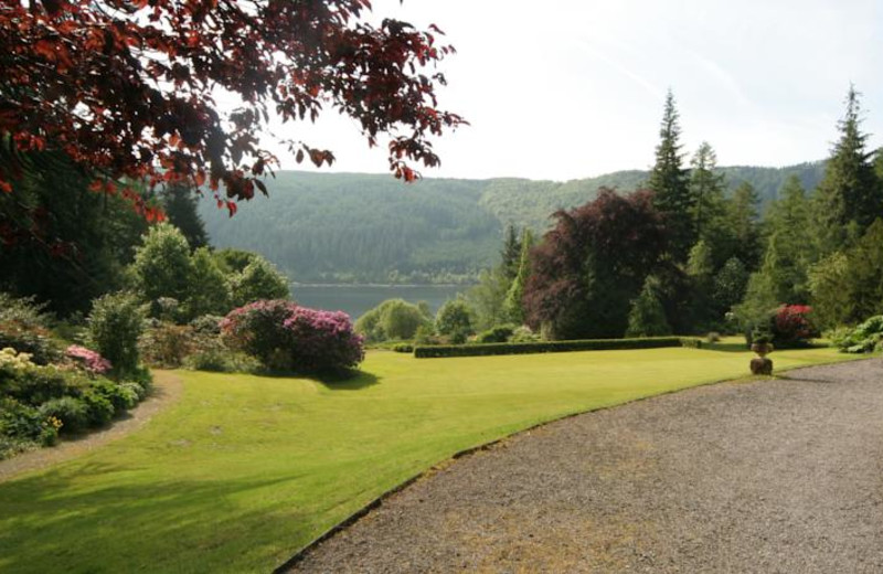 View at Dale Head Hall.