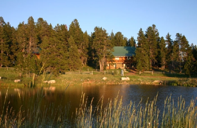 Cabin at The Hideout Lodge & Guest Ranch.