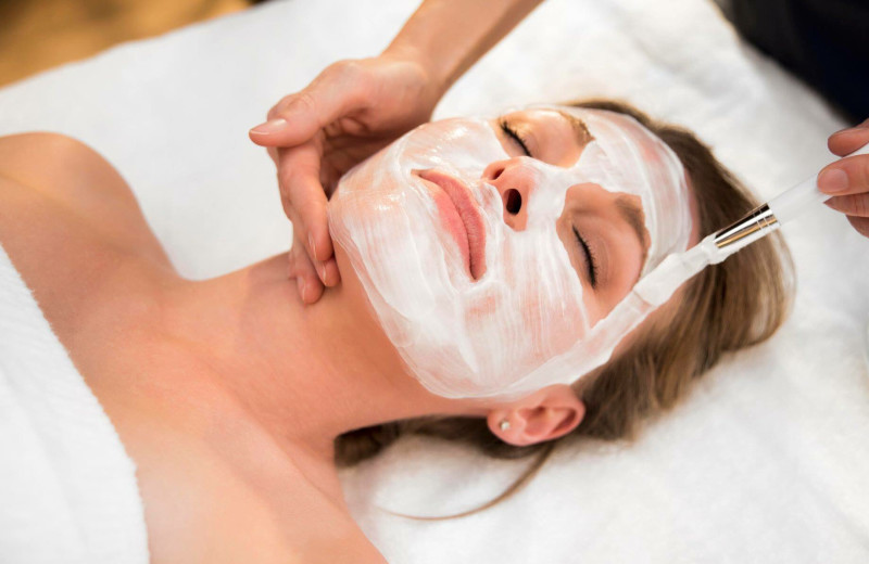 Facial at Big Cypress Lodge.