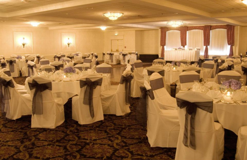Wedding reception at Capitol Plaza Hotel & Conference Center.