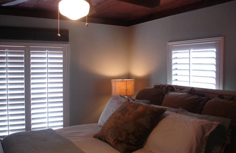Bedroom at Turtle Rock Cottage on Lake LBJ.