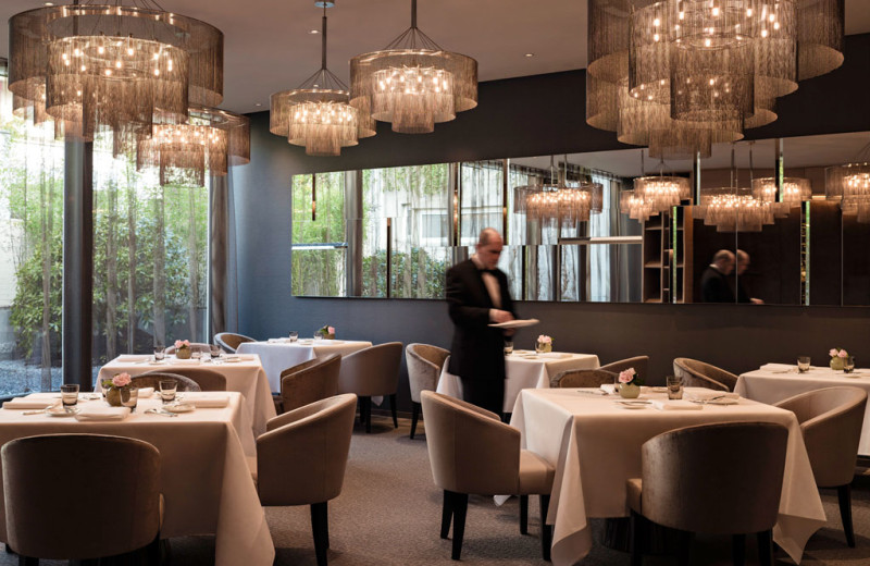 Dining at Hotel Pullman Basel Europe.