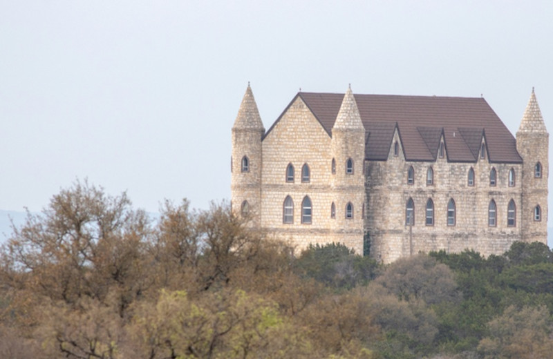 Castle near Burnet County Tourism.