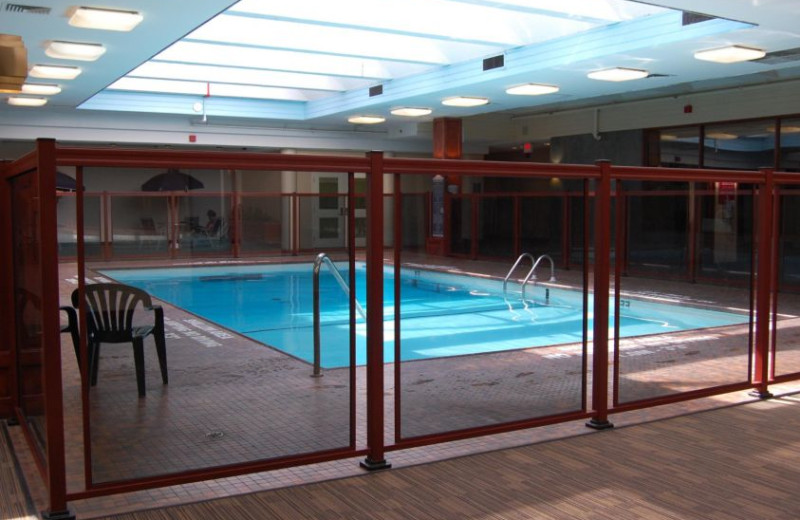 Indoor pool at KW Hotel & Conference Center.