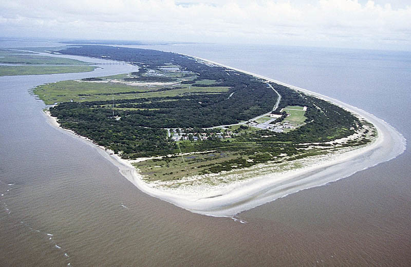 Aerial view of Hampton Inn & Suites Jekyll Island.